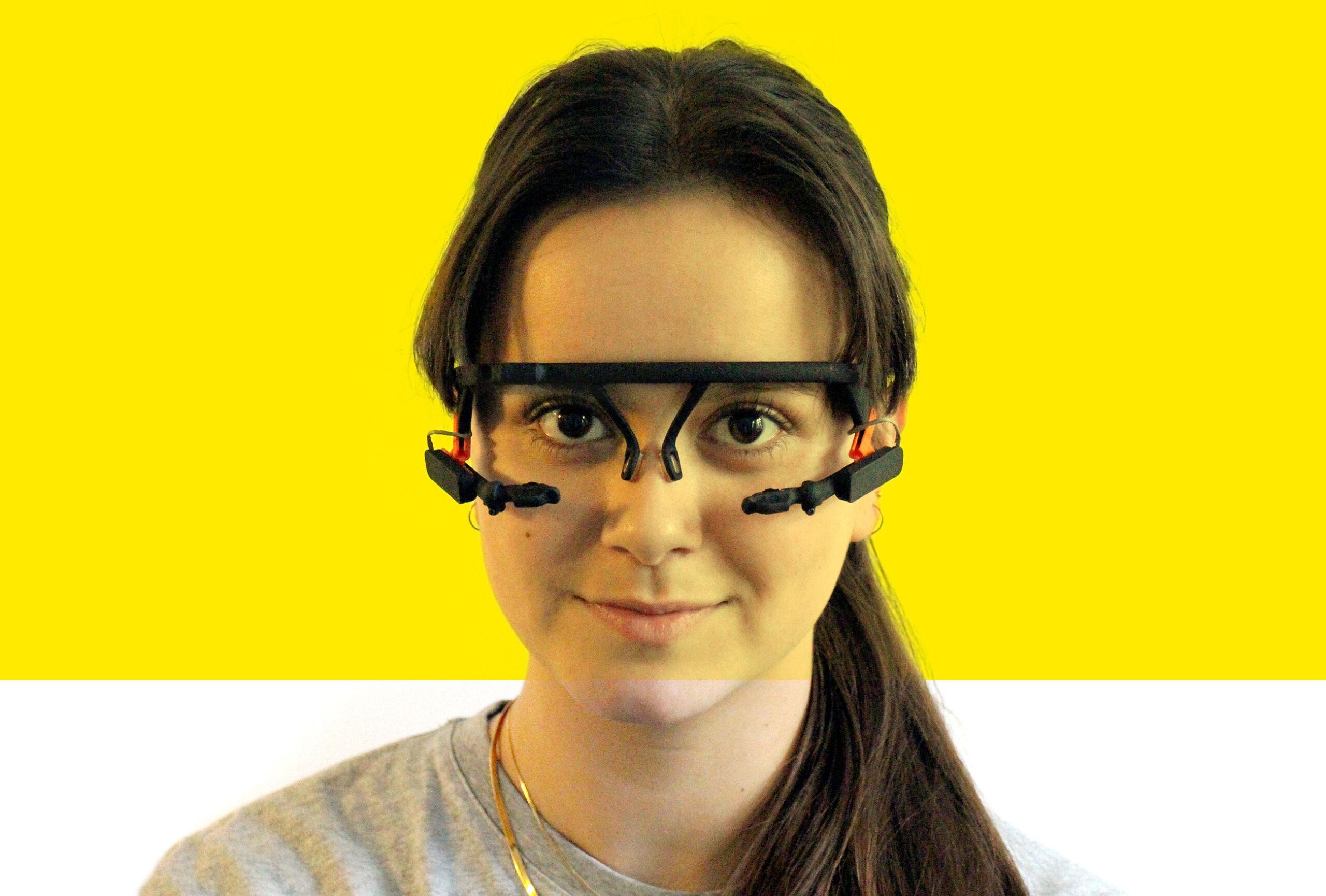 Eyetracking af øjet under læsning
